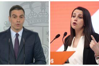 """Inés Arrimadas: """"No somos tontos y estamos viendo lo que está haciendo el Gobierno por detrás"""""""