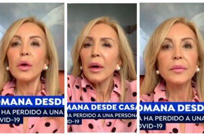 Carmen Lomana se mofa del discurso de Carmen Calvo y el 8-M: