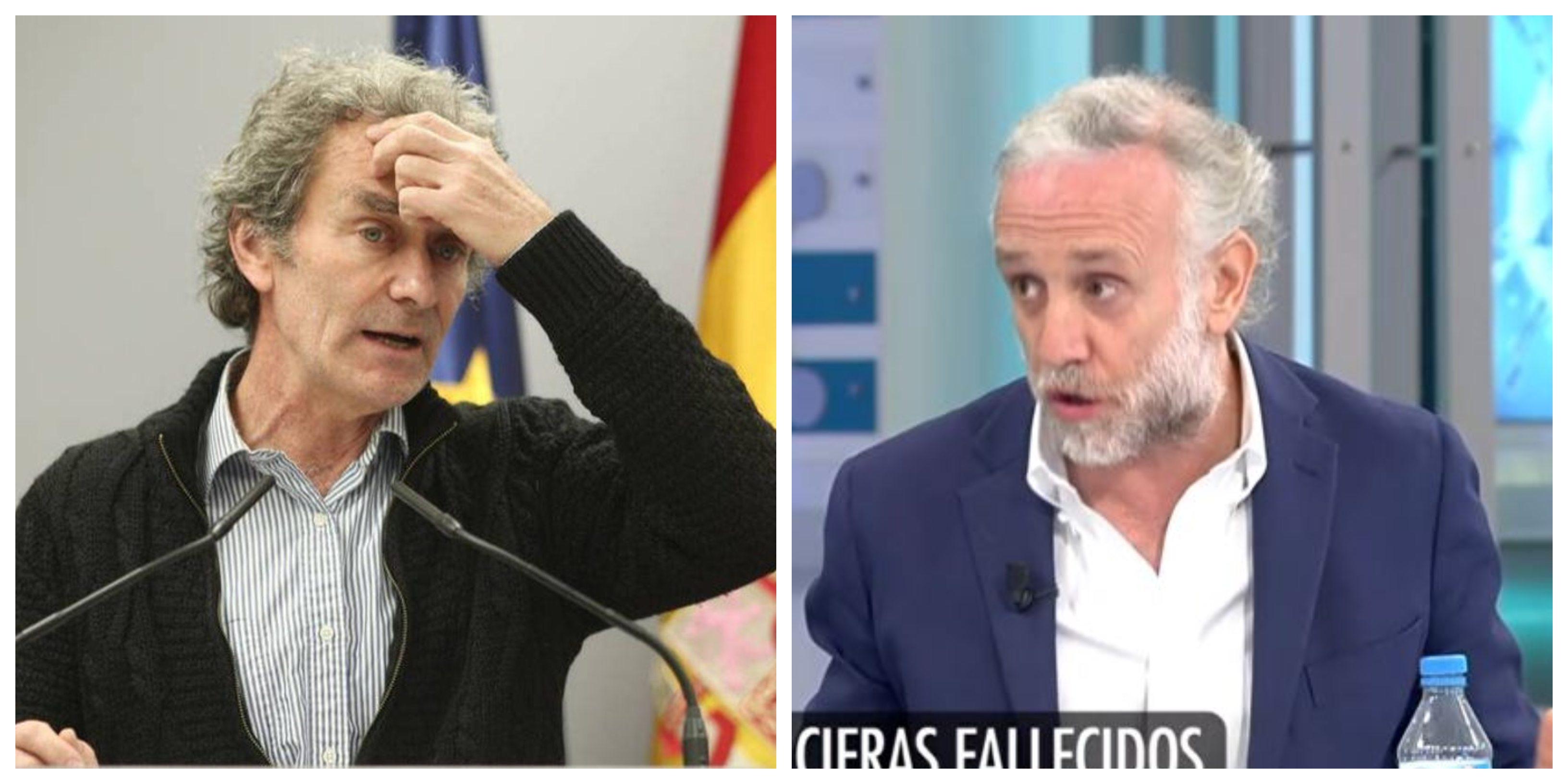 """Eduardo Inda: """"El ciudadano piensa que Fernando Simón es un inútil integral"""""""