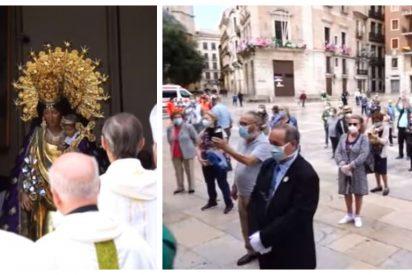 La Policía pide multar al Arzobispado de Valencia por sacar la imagen de la Virgen en medio del estado de alarma