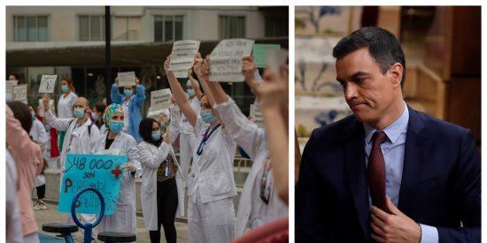 Pedro Sánchez recuerda a las enfermeras y recibe una dosis de realidad:
