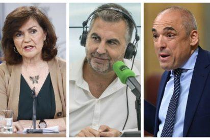 """Zurriagazo de Alsina a las explicaciones 'científicas' de Carmen Calvo: """"El virus... ya no es por los recortes del PP"""""""