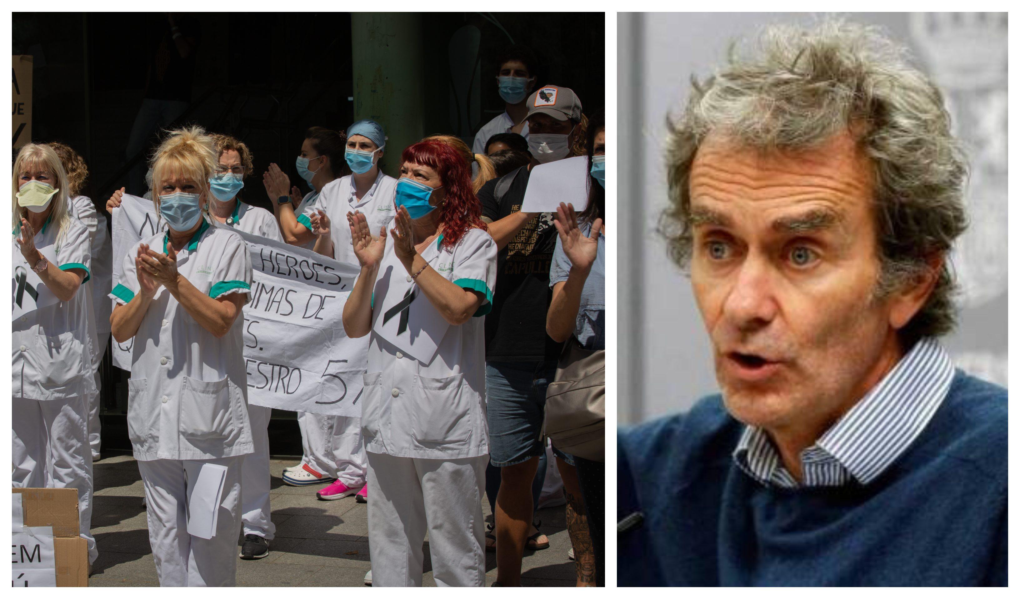 Una cifra para el desastre: 52.000 sanitarios infectados de coronavirus