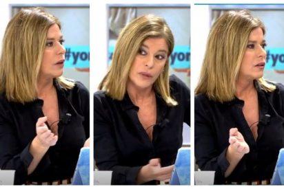 """Esther Palomera escupe toda su bilis contra el PP y le llueven los palos: """"¿En qué culo tienes los ojos, bonita?"""""""