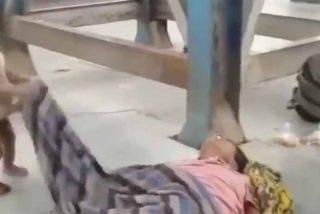 Un niño intenta despertar a su madre muerta: el terror que sufren los migrantes en India en medio del COVID-19