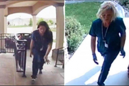 Unas ladronas se disfrazan de enfermeras para 'saquear' sin despertar sospechas en plena pandemia