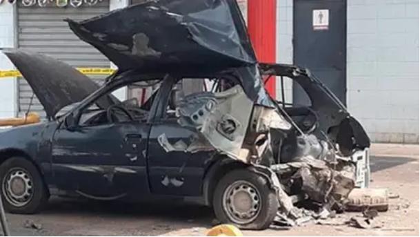 Ola de explosiones en Venezuela: los 'coche bomba' que se improvisan para esquivar la escasez de gasolina chavista