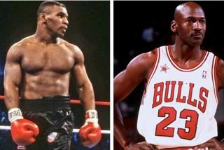 Mike Tyson vs Michael Jordan, una legendaria disputa por una mujer y evitada por los pelos