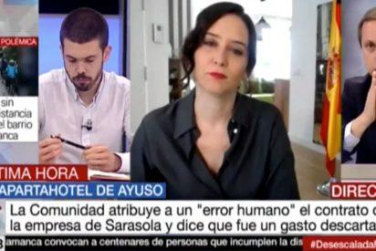 """Carlos Cuesta deja KO a un tertuliano monclovita: """"No vais a parar hasta ver a Ayuso viviendo debajo de un puente"""""""