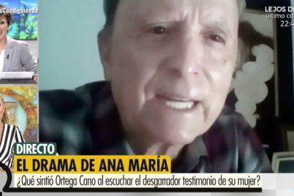 Desconcierto mayúsculo de Ortega Cano tras las desgarradoras palabras de Ana María Aldón