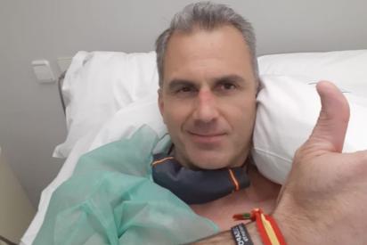 """Ortega Smith recibe el alta tras estar al borde de la muerte por el coronavirus: """"Me han salvado la vida"""""""