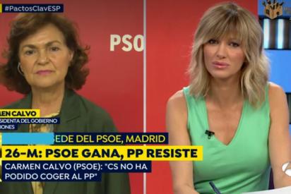 """""""Los socialistas somos gente muy de fiar"""": Así prometió Carmen Calvo a Susanna Griso que nunca pactarían con Bildu"""