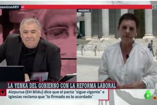 El Quilombo / Ferreras cae hasta lo más bajo suplicando a una 'bildutarra' que condene la violencia contra Idoia Mendía