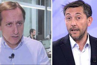 Carlos Cuesta (OKdiario) desvela el secreto peor guardado de Javier Ruiz (CuatroTV)