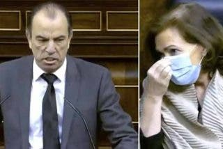 García Adanero (UPN) se enfurece contra Carmen Calvo por reírse cuando conmemoraba a una víctima de ETA