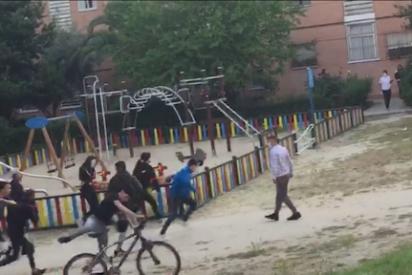 Villaverde: bandas de adolescentes se saltan el confinamiento para pelearse en un parque infantil