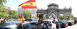 Cientos de miles de patriotas 'motorizados' colapsan España contra la mordaza socialcomunista de Sánchez e Iglesias