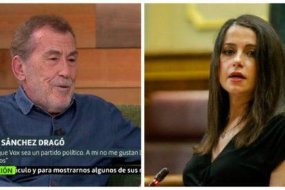 Sánchez Dragó lo peta en Twitter y liquida en tres gloriosos trinos a Inés Arrimadas