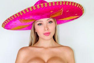 Daniella Chávez da las buenas noches en lencería negra y se declara mexicana