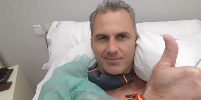 Javier Ortega Smith, ingresado por trombos en la pierna y en los pulmones a causa del coronavirus
