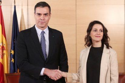 Arrimadas rinde sus diputados a Sánchez para que prorrogue el estado de alarma otros 15 días