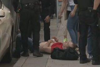 Una banda podemita manda al hospital a golpes a un joven que se manifestaba contra el Gobierno