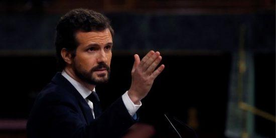 Pablo Casado tirará por tierra el 'sudoku' de Sánchez: no apoyará más el estado de alarma