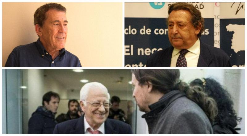 """Sánchez Dragó manda al """"infierno"""" al Padre Ángel por pedir que Dios bendiga a Pablo Iglesias y Ussía pone el toque final"""