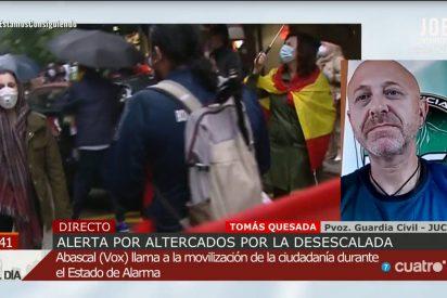 La Guardia Civil se planta ante Sánchez y Marlaska: ni llevar una bandera es delito, ni tenemos los equipos prometidos
