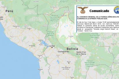 Mueren cuatro cooperantes que volvían a España, al estrellarse una avioneta en Bolivia