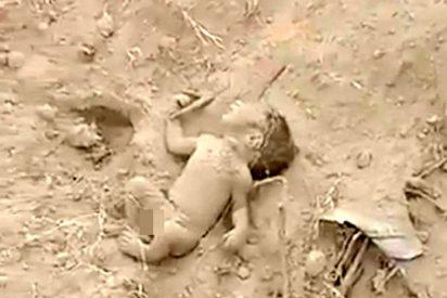 El milagroso rescate del bebé que fue enterrado vivo a los pocos días de nacer