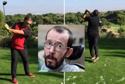 Carta al padre golfista y 'pijo' de Pablo Echenique, portavoz de Podemos