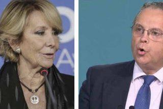 Esperanza Aguirre calla a Carmona a las malas y en directo: