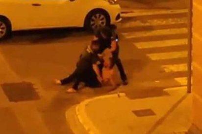 Un facineroso causa pánico en Bonrepòs (Valencia): salta de un segundo piso e intenta desarmar a dos agentes
