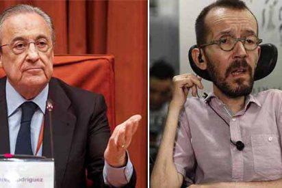 Florentino Pérez y Pablo Echenique.