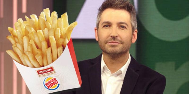 """Cachondeo generalizado por el enfado de Frank Blanco con Burger King: """"Una verdadera tragedia"""""""