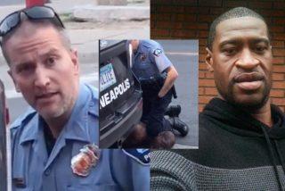 Arrestado y acusado de asesinato el policía que asfixió a un hombre negro en Minneapolis