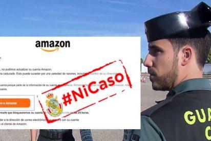 La Guardia Civil alerta sobre el timo que llega en forma de Amazon