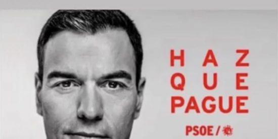 'Haz que pague', el vídeo de la gestión criminal de Pedro Sánchez que evita la censura de Moncloa