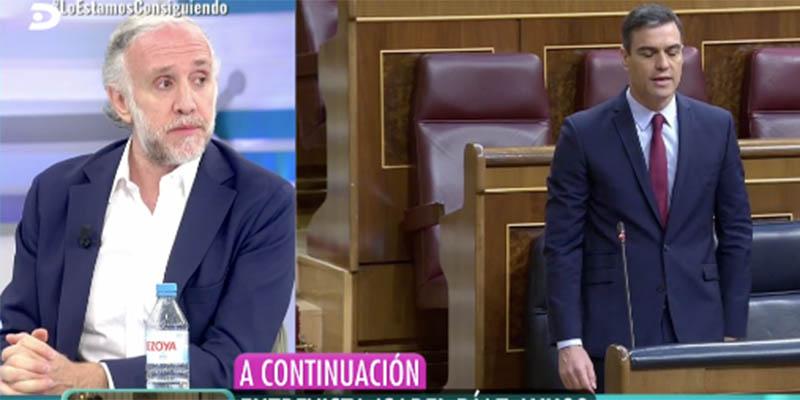 """Inda: """"Sánchez nos toma por gilipollas con lo del indultazo a los golpistas"""""""