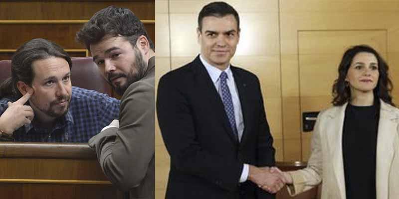 La nueva negociación de Sánchez y Arrimadas que pone a temblar a comunistas, etarras y separatistas