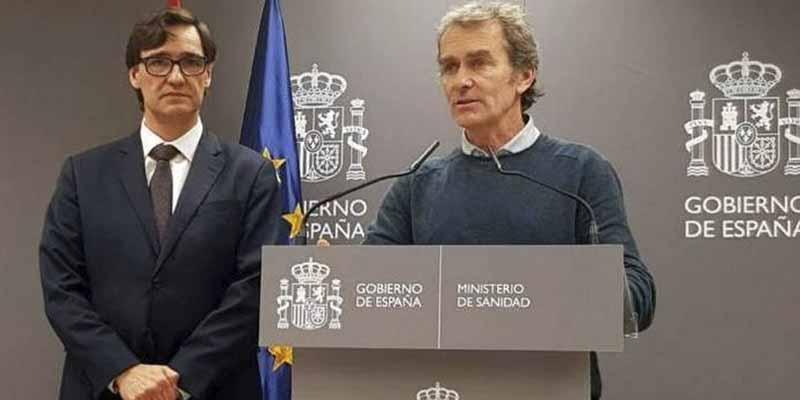 """La dupla del caos, Illa y Simón, anuncian que """"el 51% de los españoles pasan a la fase 1"""""""