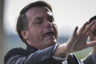 Jair Bolsonaro, hospitalizado por un cálculo en la vejiga