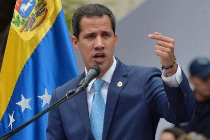 """Juan Guaidó da una dura respuesta al chavista Maduro por llamarlo """"prófugo"""""""