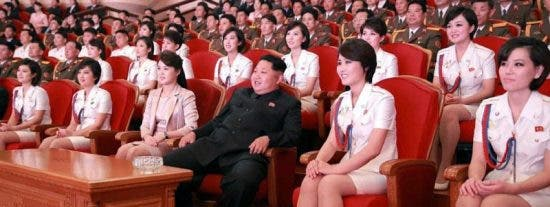 El 'Escuadrón del Placer' del tirano comunista Kim Jong-un