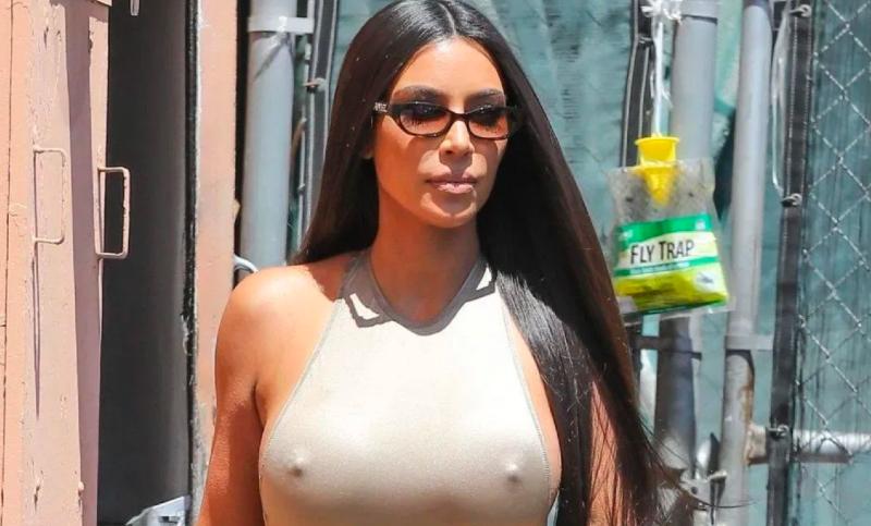 Kim Kardashian se quita la ropa y burla a la censura de Instagram