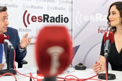 Losantos pone sobreaviso a Ayuso para desactivar la jugarreta socialcomunista y 'ciudadana' en Madrid