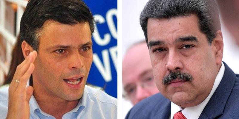 """Leopoldo López reta a Maduro: """"Vamos juntos a cualquier Tribunal Internacional a ver a quién dejan preso"""""""
