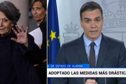 Javier Marías critica a Rosa María Mateo por 'suprimir' los informativos de TVE a costa de una sucesión de 'Aló Presidente'