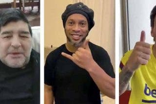 Messi, Maradona y hasta Ronaldinho, ya fuera de la cárcel, desean suerte a Turki Al-Sheikh